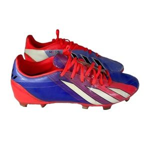 Adidas Messi Flo f50 pink purple cleat shoe